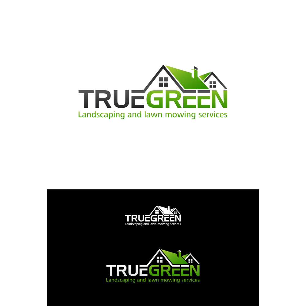 Logo Design by blue09 - Entry No. 55 in the Logo Design Contest Fun Logo Design for TRUE GREEN.