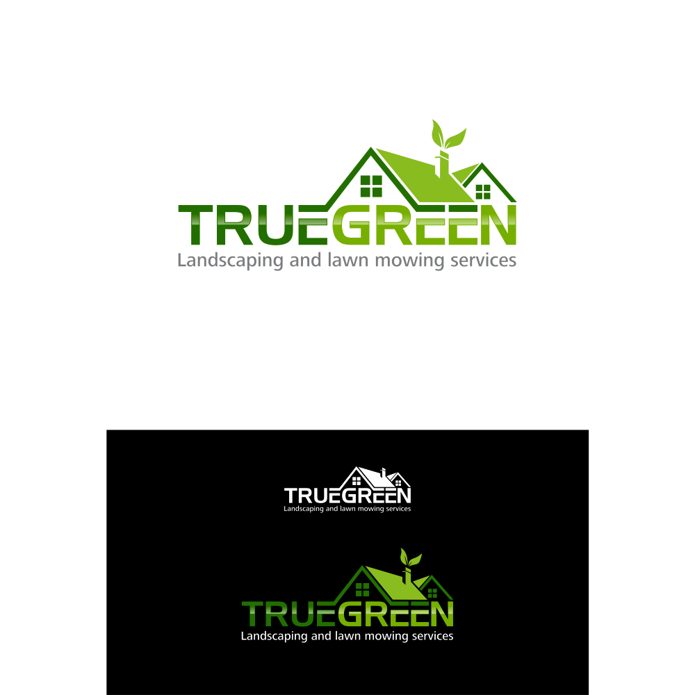 Logo Design by blue09 - Entry No. 57 in the Logo Design Contest Fun Logo Design for TRUE GREEN.