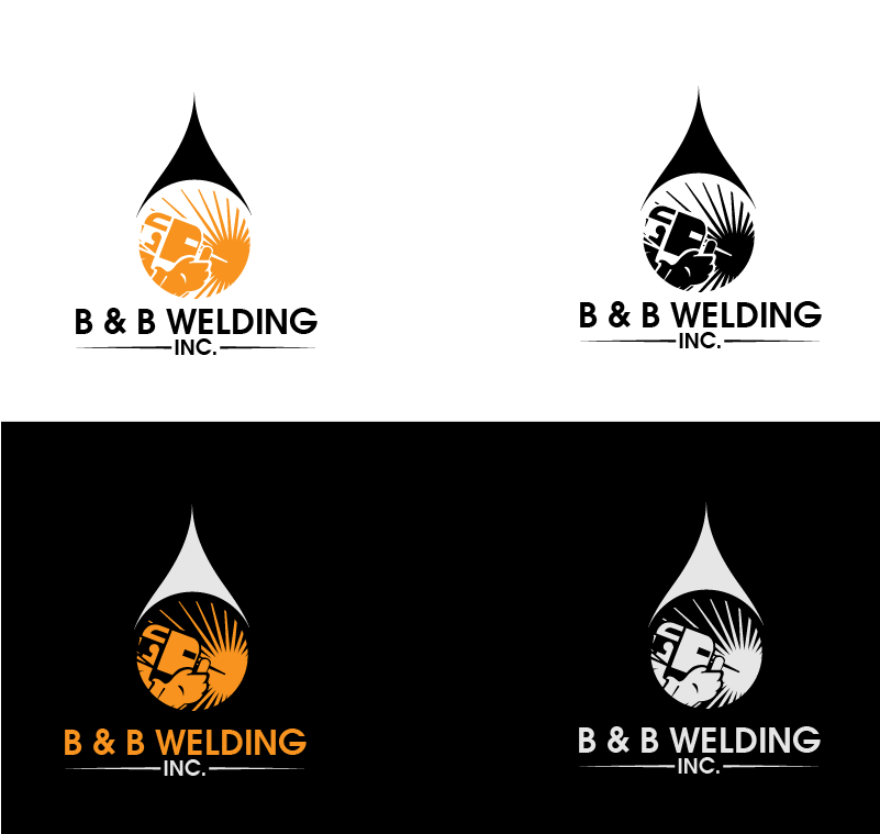 Logo Design by Private User - Entry No. 42 in the Logo Design Contest Fun Logo Design for B&B Welding Inc..