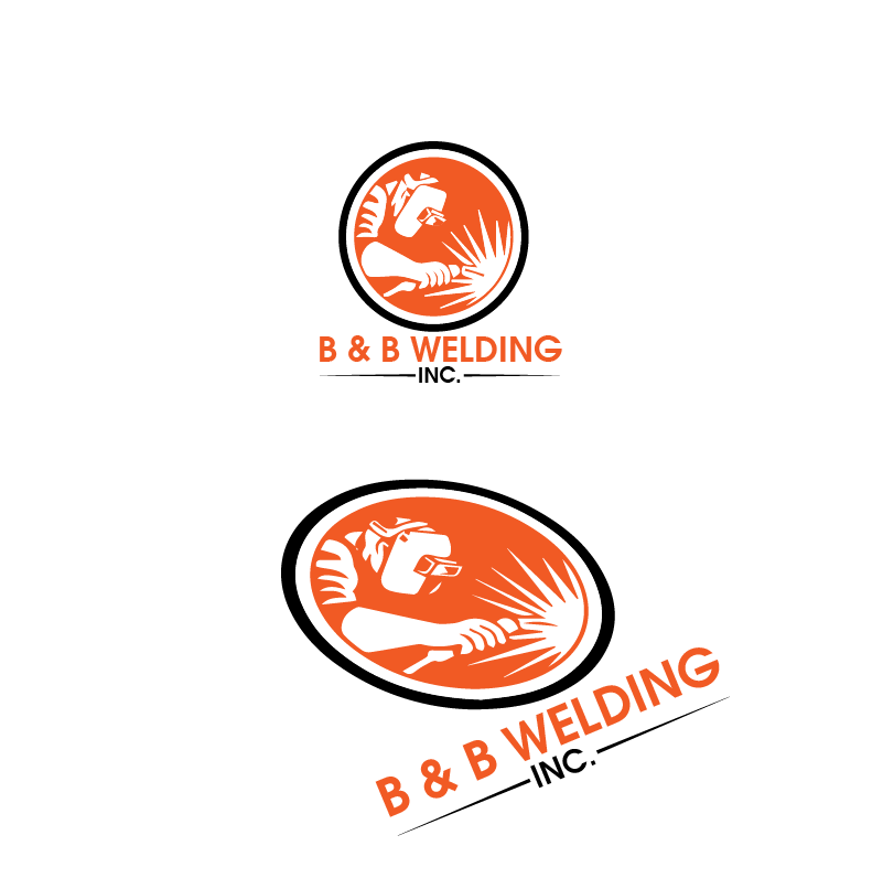 Logo Design by Private User - Entry No. 43 in the Logo Design Contest Fun Logo Design for B&B Welding Inc..