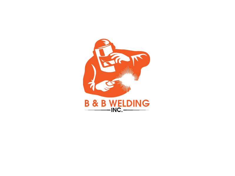 Logo Design by Private User - Entry No. 44 in the Logo Design Contest Fun Logo Design for B&B Welding Inc..