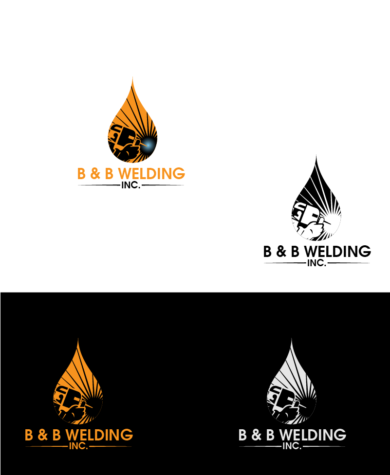 Logo Design by Private User - Entry No. 45 in the Logo Design Contest Fun Logo Design for B&B Welding Inc..