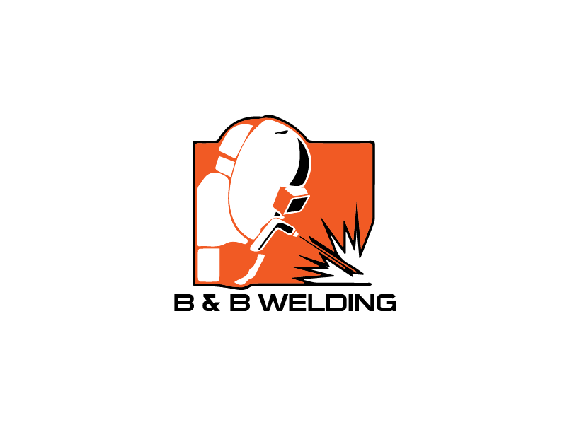 Logo Design by Private User - Entry No. 46 in the Logo Design Contest Fun Logo Design for B&B Welding Inc..