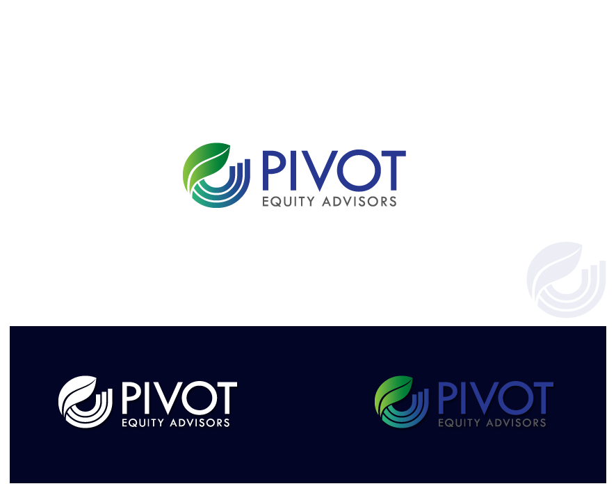 Logo Design by Private User - Entry No. 49 in the Logo Design Contest Unique Logo Design Wanted for Pivot Equity Advisors.