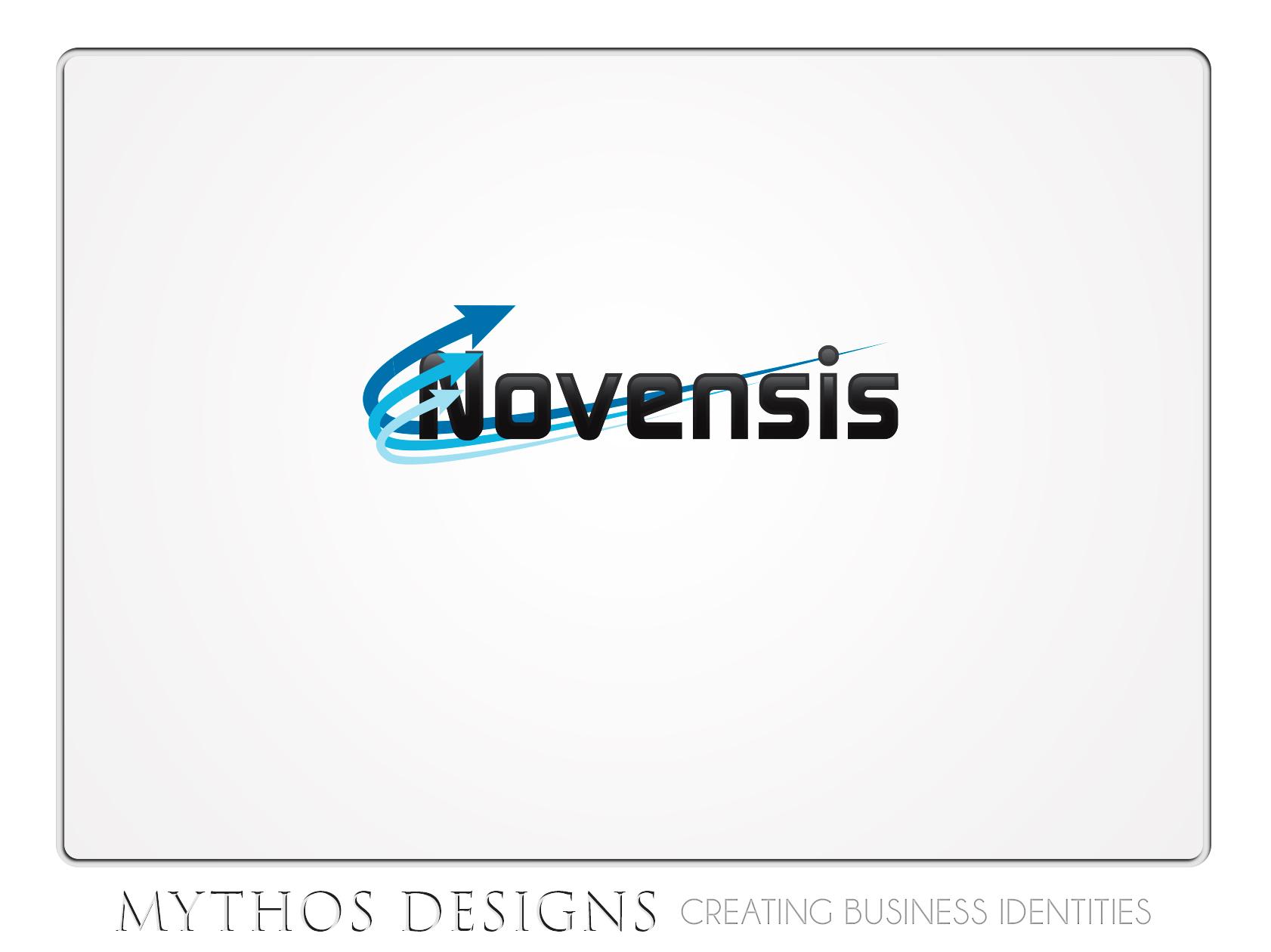 Logo Design by Mythos Designs - Entry No. 44 in the Logo Design Contest Novensis Logo Design.