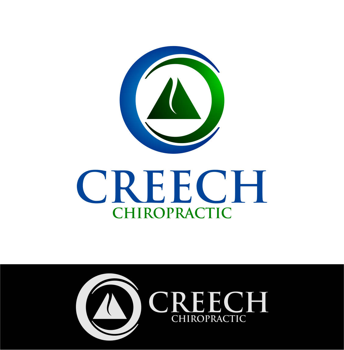 Logo Design by Agus Martoyo - Entry No. 116 in the Logo Design Contest Imaginative Logo Design for Creech Chiropractic.