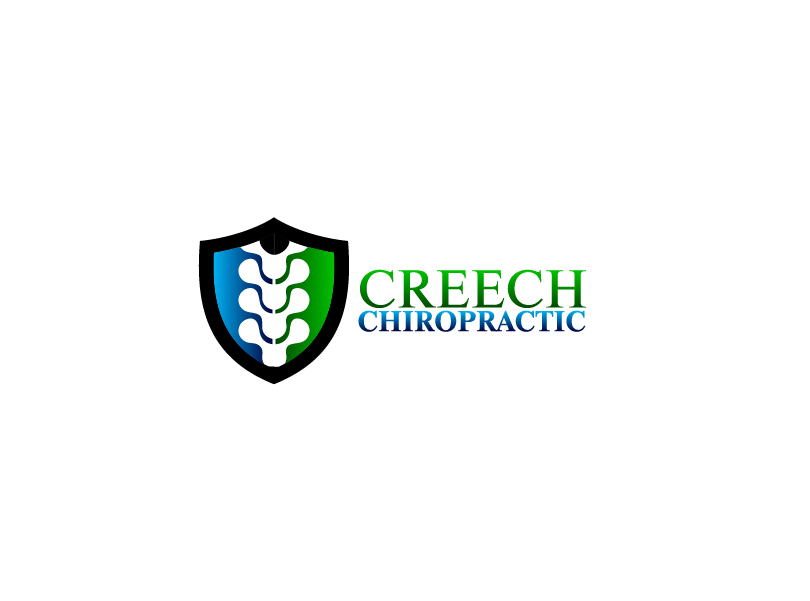 Logo Design by Private User - Entry No. 119 in the Logo Design Contest Imaginative Logo Design for Creech Chiropractic.