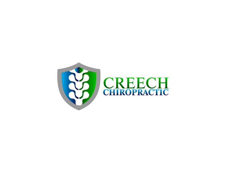 Logo Design by Private User - Entry No. 120 in the Logo Design Contest Imaginative Logo Design for Creech Chiropractic.