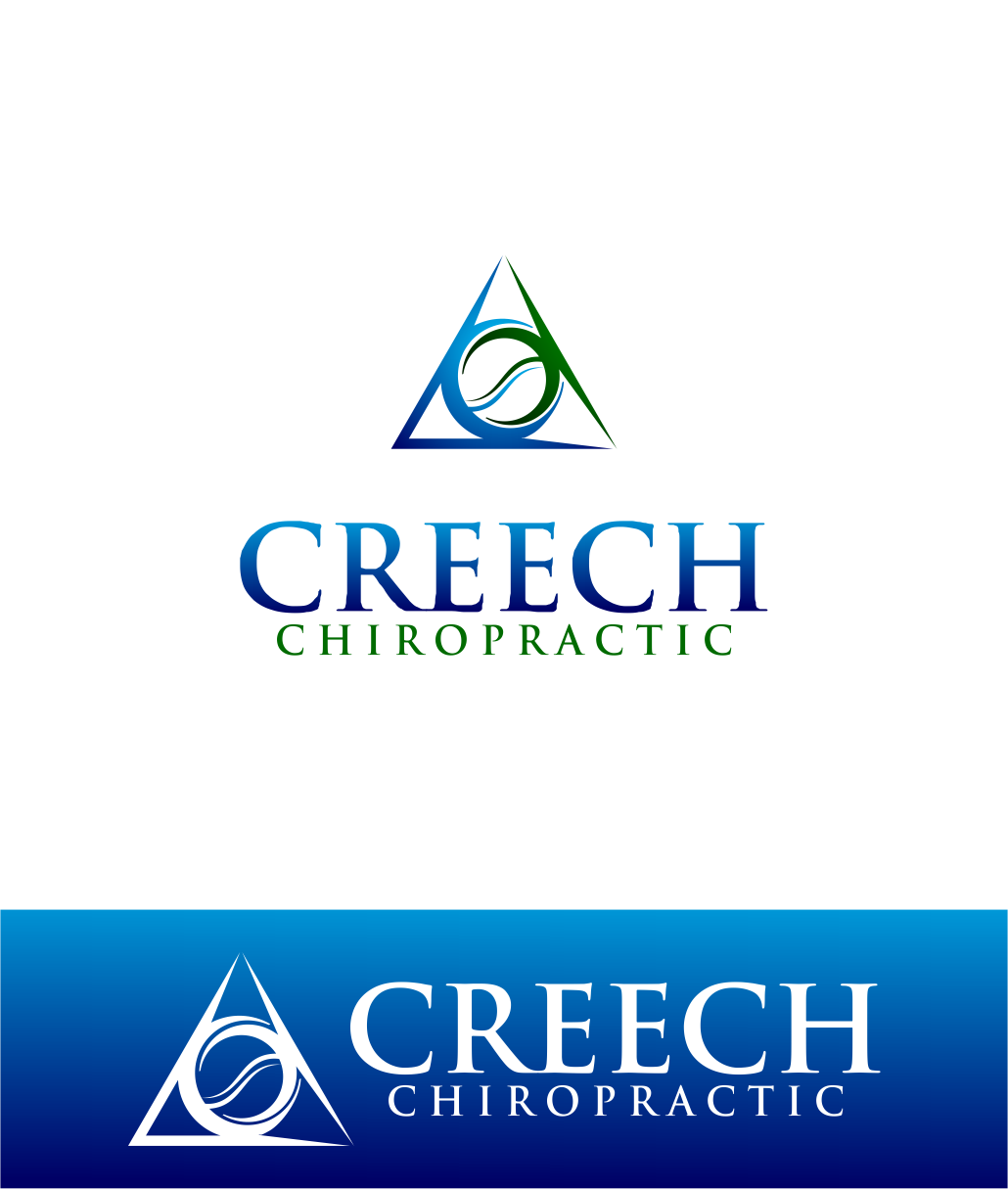 Logo Design by Agus Martoyo - Entry No. 121 in the Logo Design Contest Imaginative Logo Design for Creech Chiropractic.