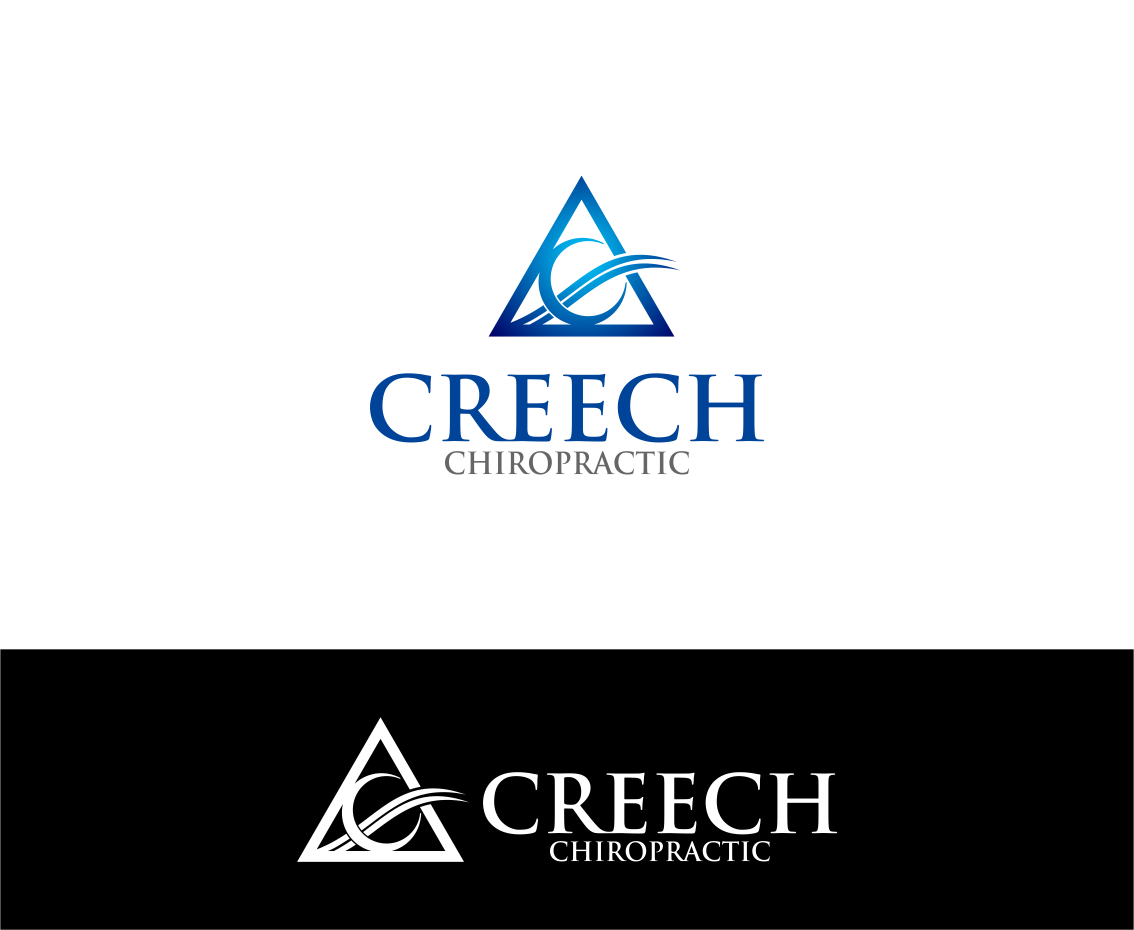 Logo Design by Agus Martoyo - Entry No. 124 in the Logo Design Contest Imaginative Logo Design for Creech Chiropractic.