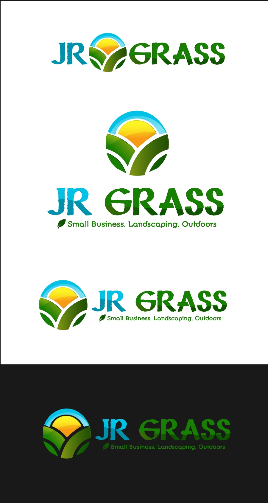Logo Design by Private User - Entry No. 22 in the Logo Design Contest Inspiring Logo Design for JR Grass.