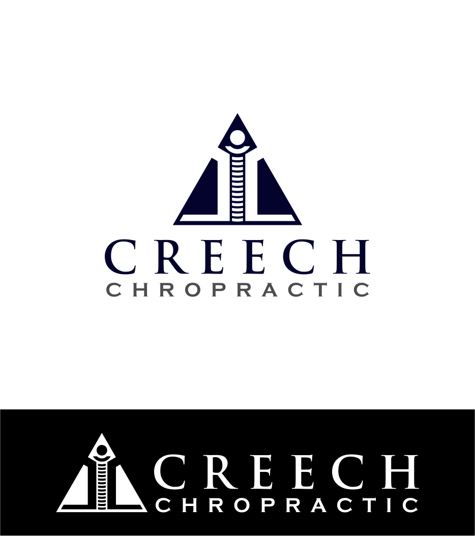 Logo Design by Agus Martoyo - Entry No. 126 in the Logo Design Contest Imaginative Logo Design for Creech Chiropractic.