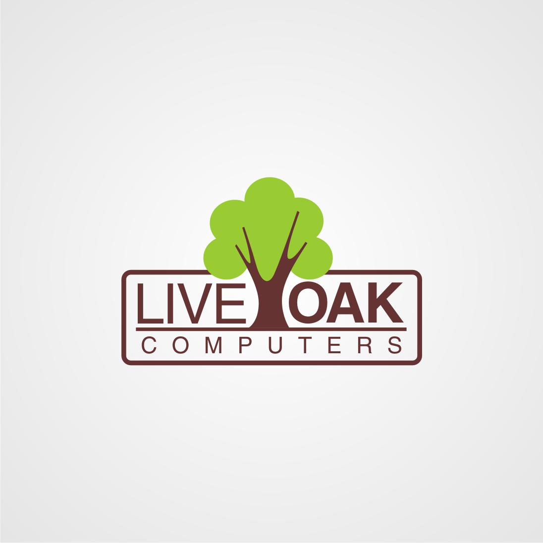 Logo Design by Edi Lilik  Jiwantoro - Entry No. 43 in the Logo Design Contest Live Oak Computers.