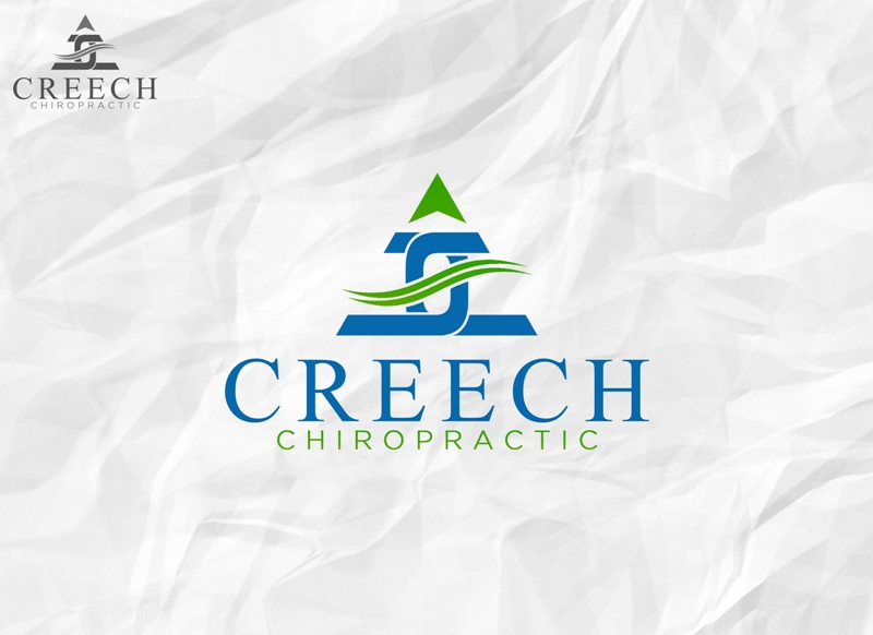 Logo Design by Juan_Kata - Entry No. 129 in the Logo Design Contest Imaginative Logo Design for Creech Chiropractic.
