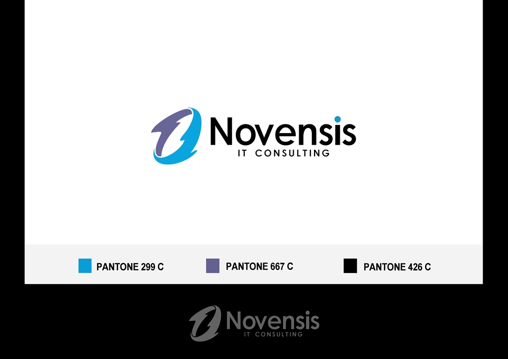 Logo Design by Fita Tiara Sani - Entry No. 57 in the Logo Design Contest Novensis Logo Design.