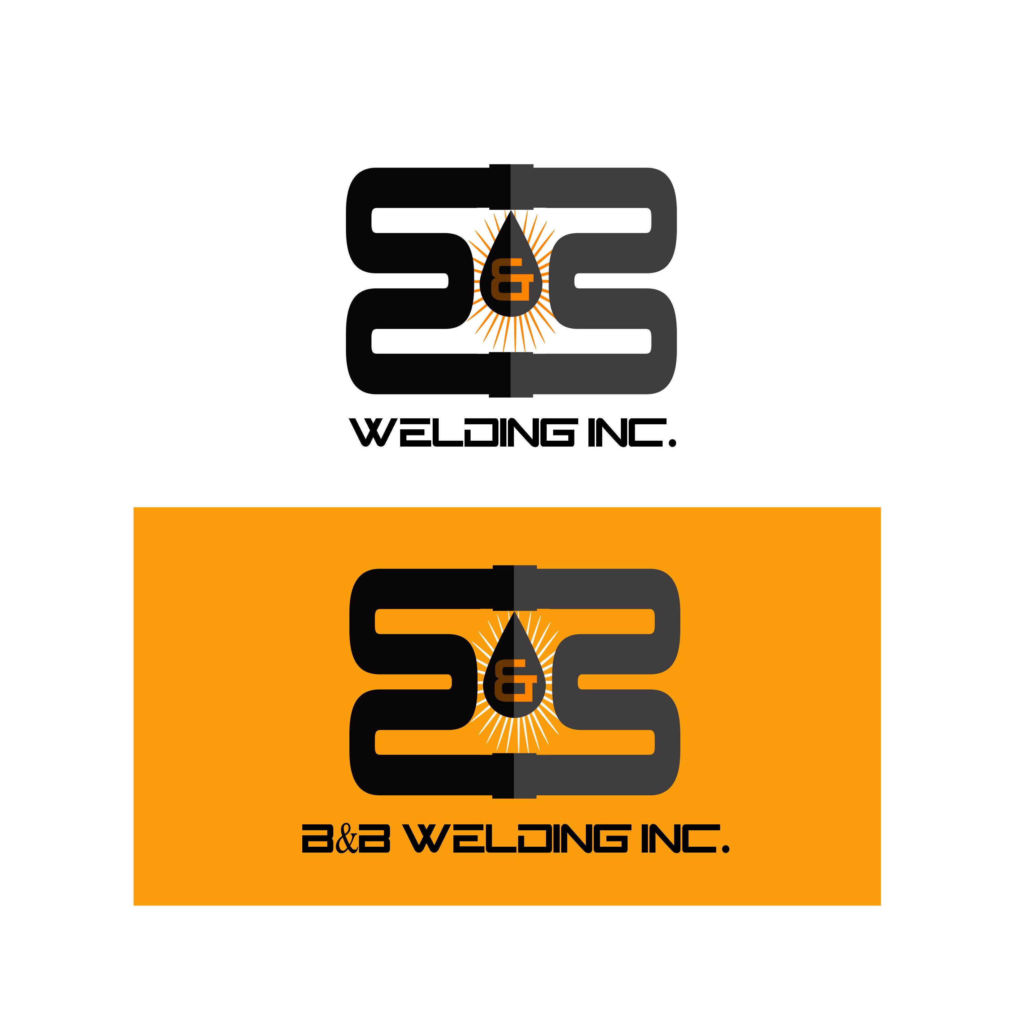 Logo Design by Allan Esclamado - Entry No. 49 in the Logo Design Contest Fun Logo Design for B&B Welding Inc..