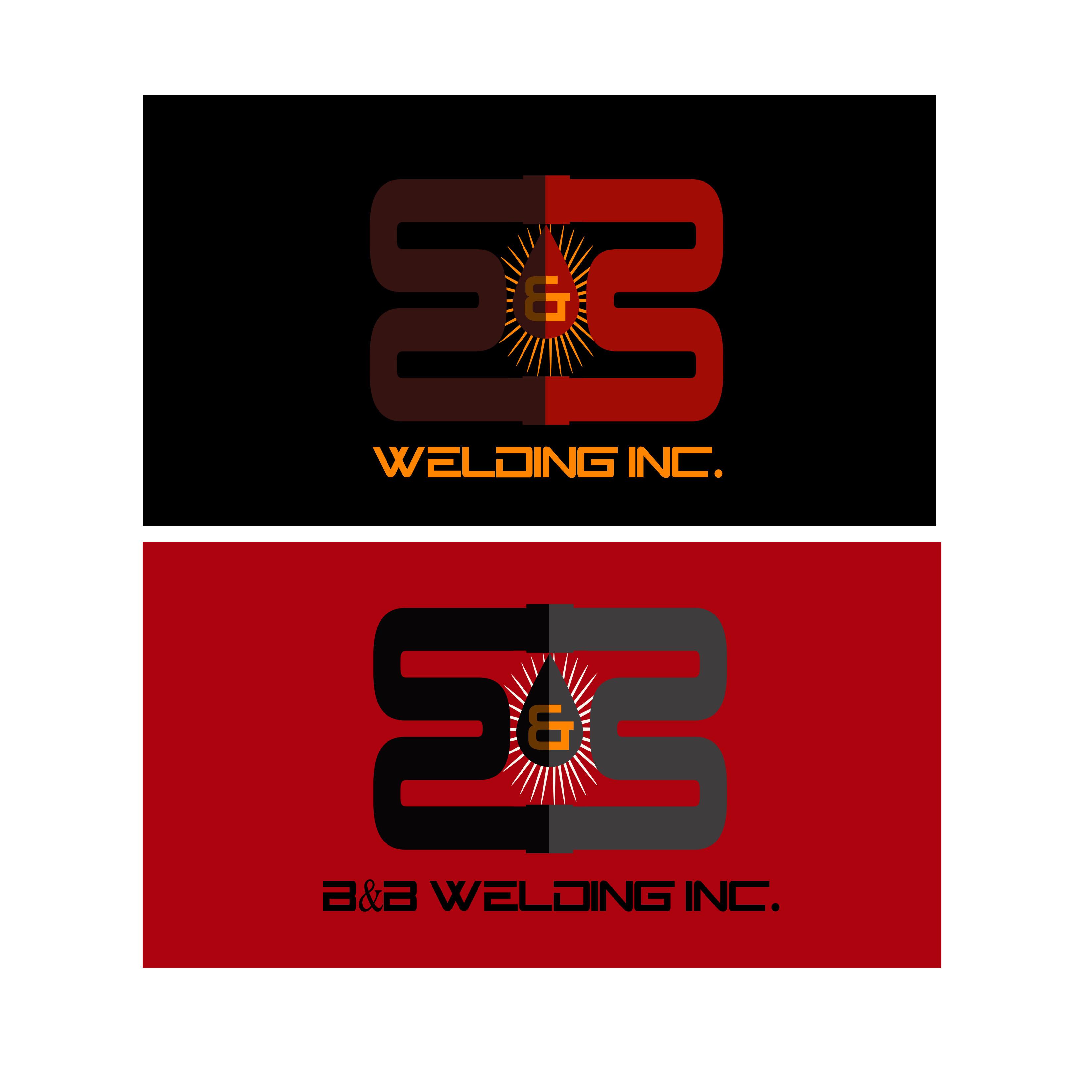 Logo Design by Allan Esclamado - Entry No. 52 in the Logo Design Contest Fun Logo Design for B&B Welding Inc..