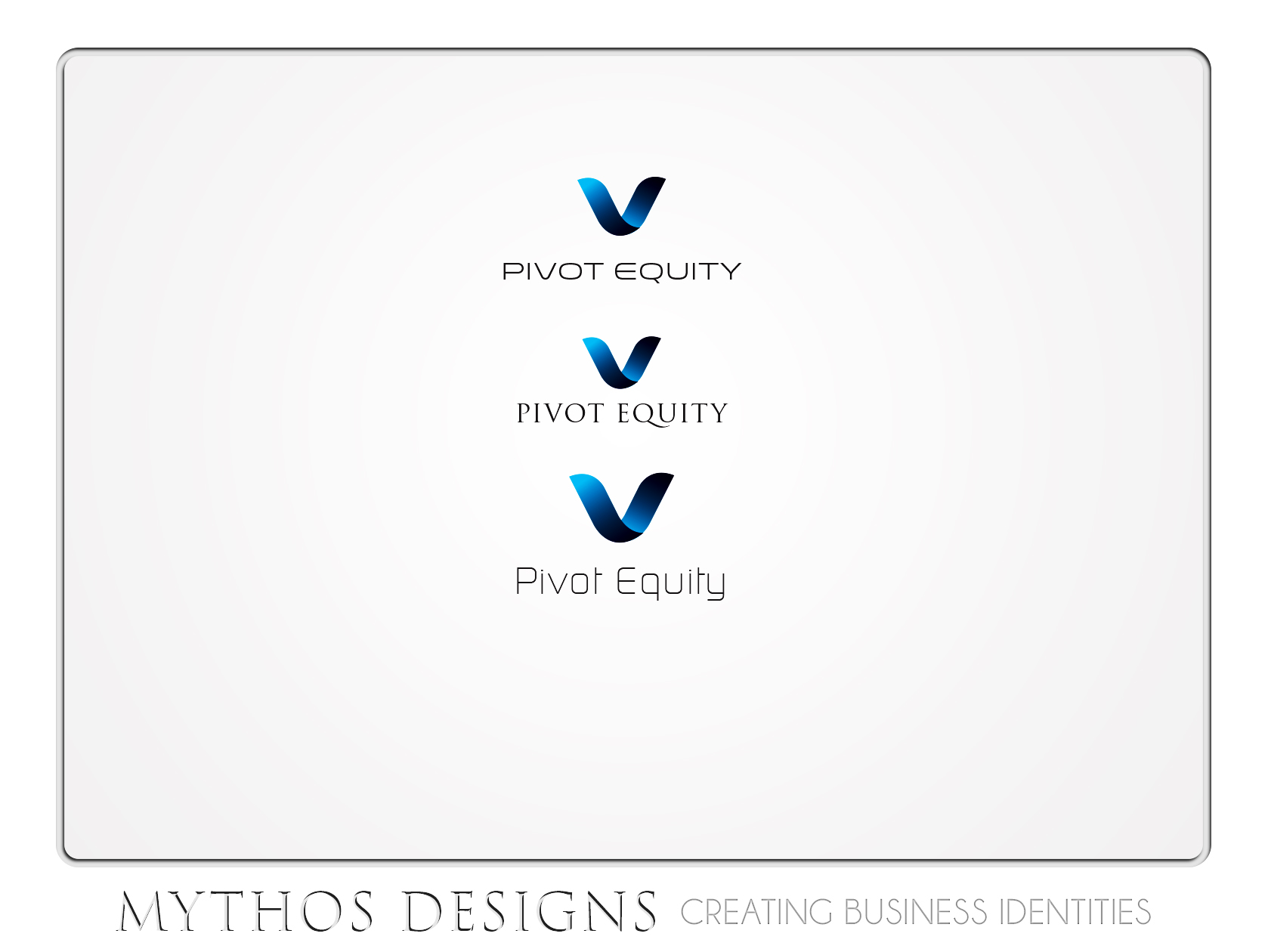 Logo Design by Mythos Designs - Entry No. 55 in the Logo Design Contest Unique Logo Design Wanted for Pivot Equity Advisors.