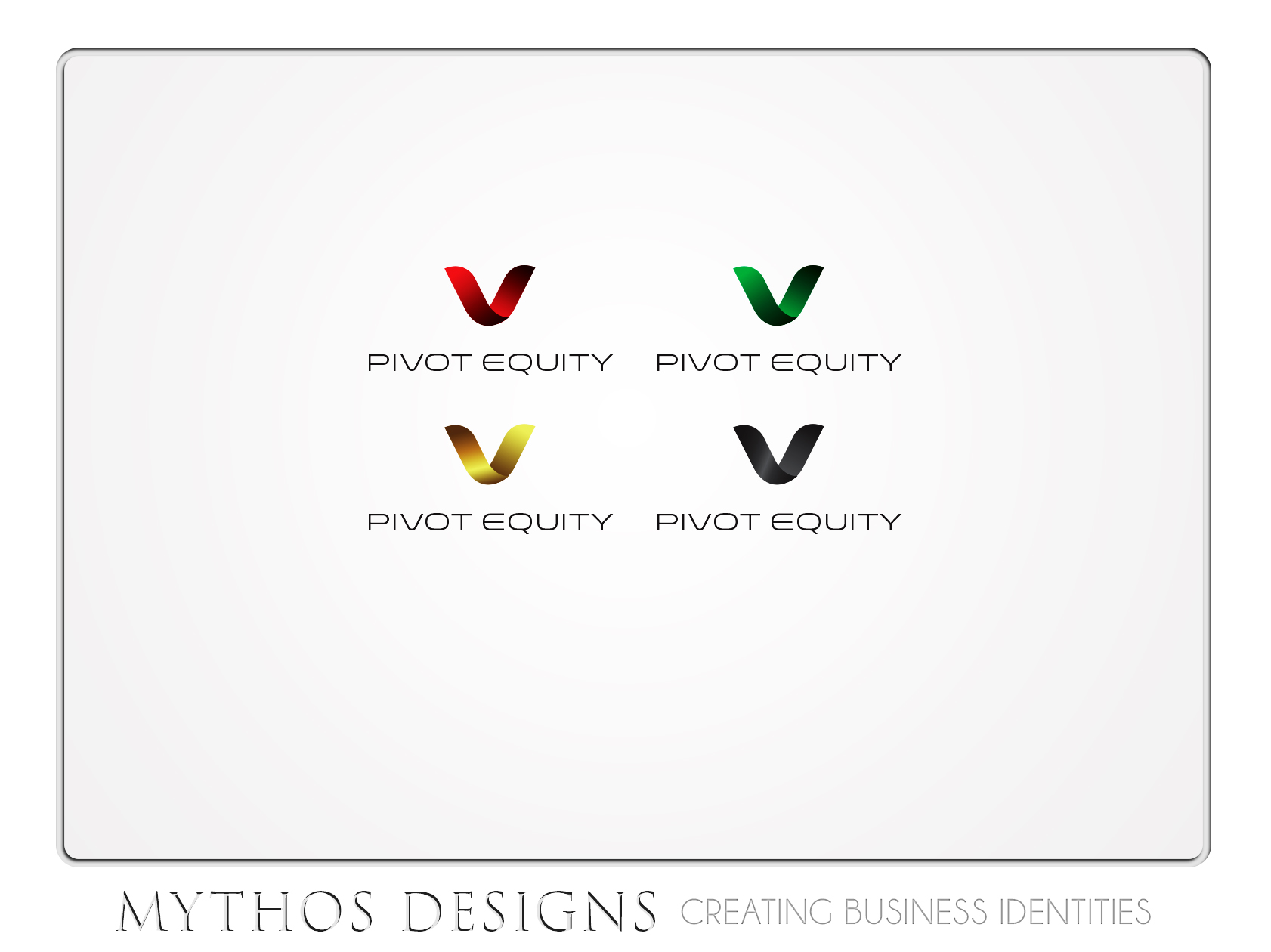Logo Design by Mythos Designs - Entry No. 56 in the Logo Design Contest Unique Logo Design Wanted for Pivot Equity Advisors.