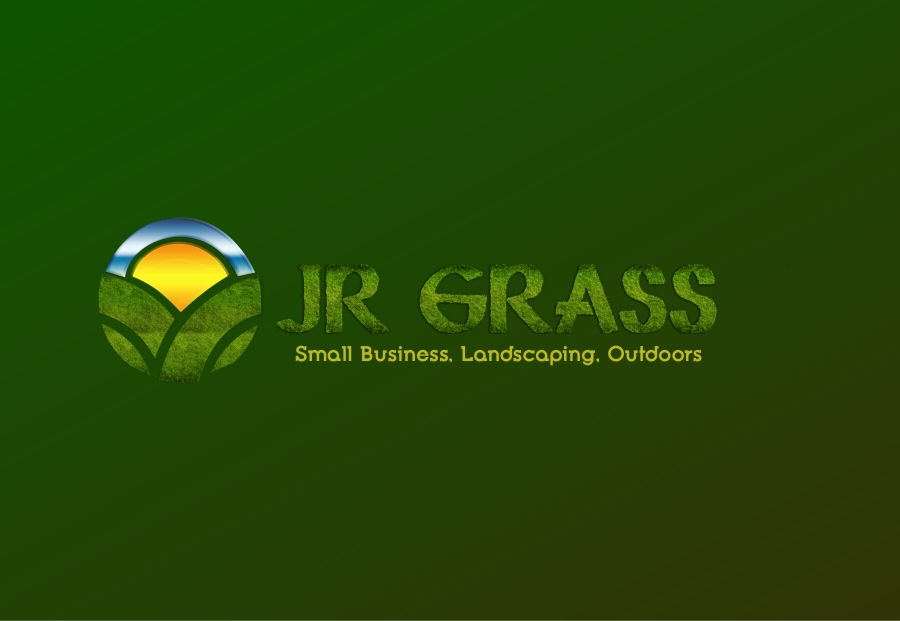 Logo Design by Private User - Entry No. 24 in the Logo Design Contest Inspiring Logo Design for JR Grass.