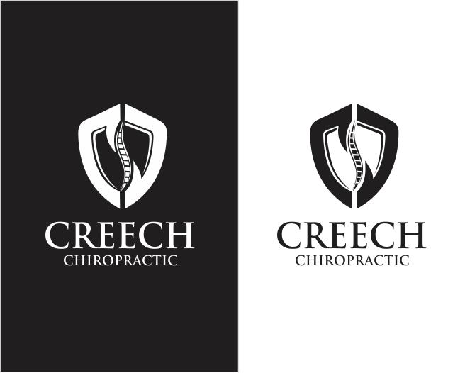 Logo Design by ronny - Entry No. 133 in the Logo Design Contest Imaginative Logo Design for Creech Chiropractic.