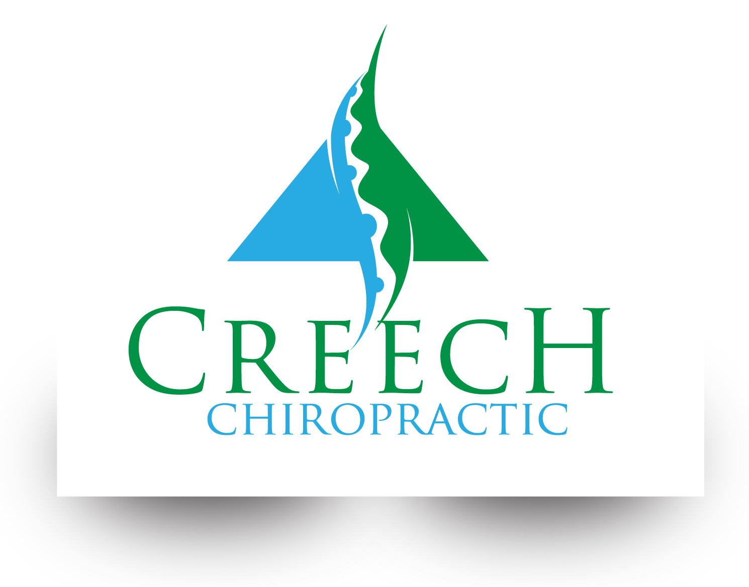 Logo Design by demang - Entry No. 135 in the Logo Design Contest Imaginative Logo Design for Creech Chiropractic.