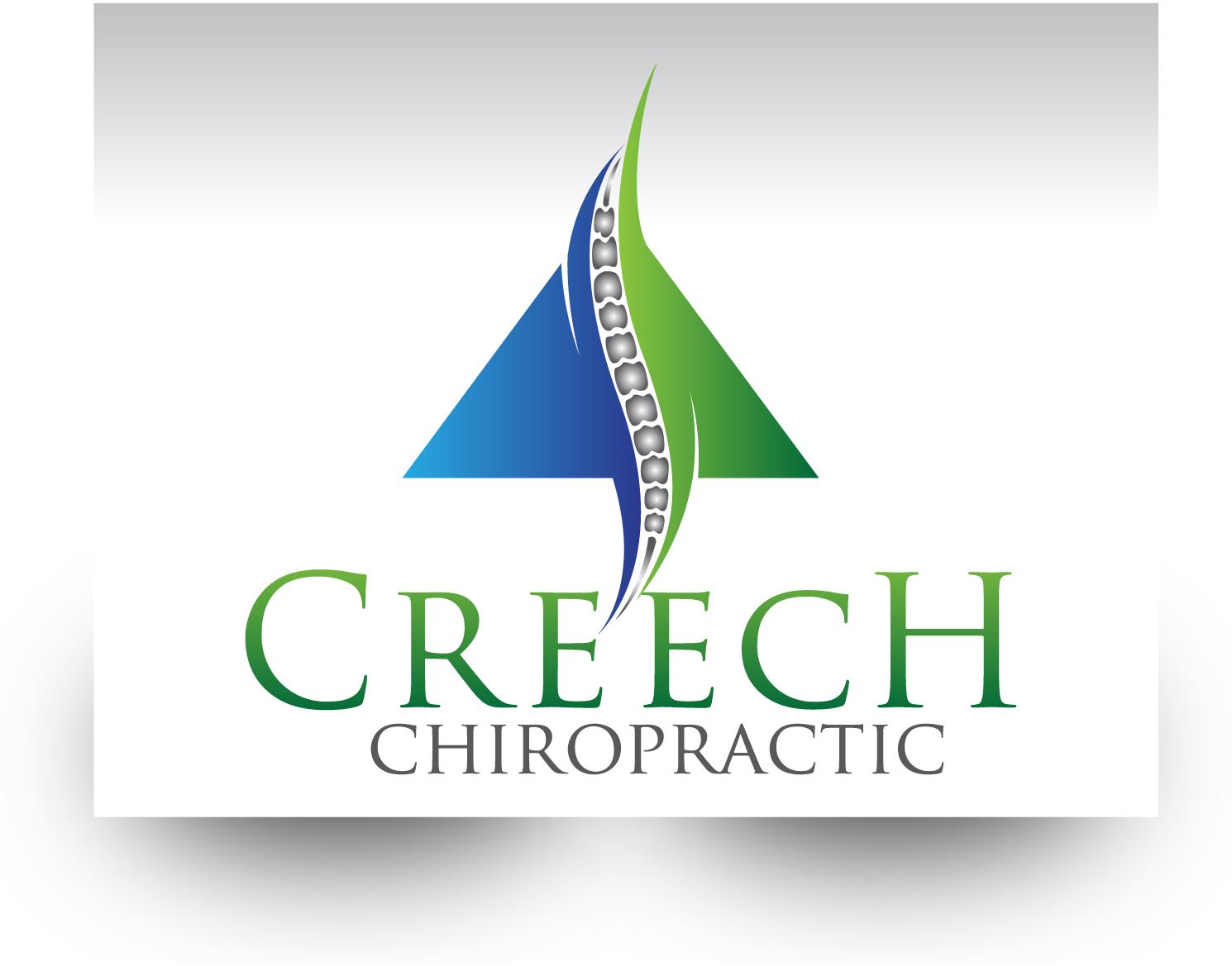 Logo Design by demang - Entry No. 136 in the Logo Design Contest Imaginative Logo Design for Creech Chiropractic.