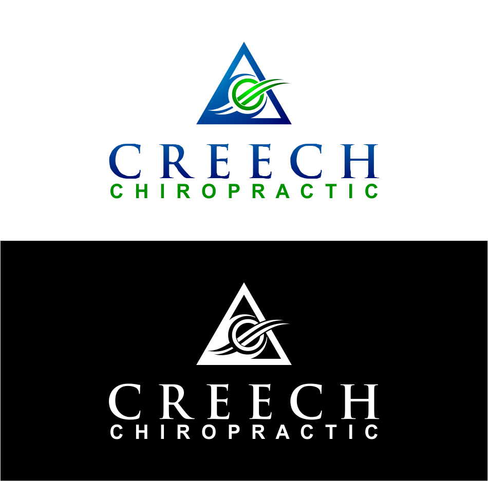 Logo Design by Agus Martoyo - Entry No. 137 in the Logo Design Contest Imaginative Logo Design for Creech Chiropractic.