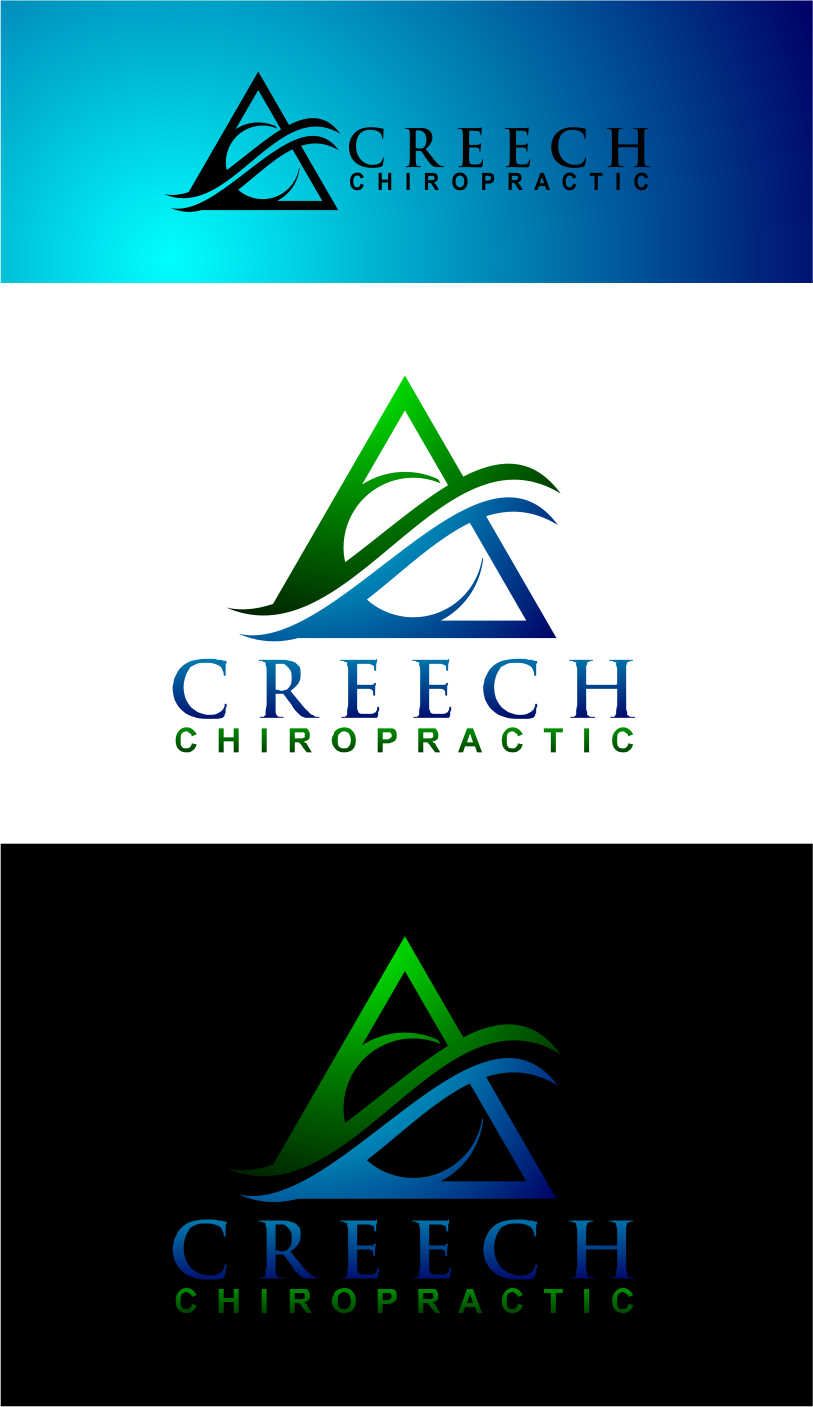 Logo Design by Agus Martoyo - Entry No. 138 in the Logo Design Contest Imaginative Logo Design for Creech Chiropractic.