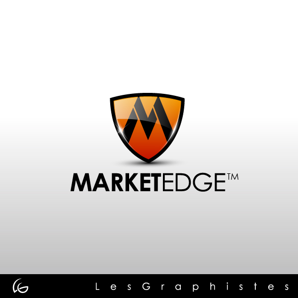 Logo Design by Les-Graphistes - Entry No. 12 in the Logo Design Contest Market Edge or Marketedge.