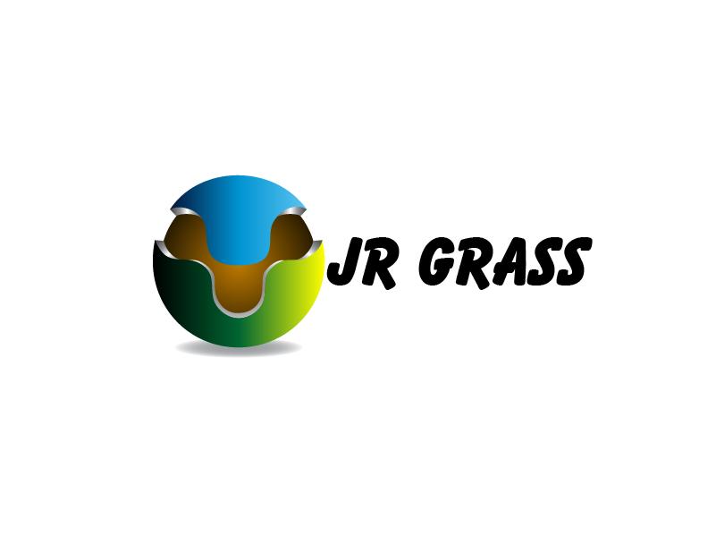 Logo Design by Private User - Entry No. 27 in the Logo Design Contest Inspiring Logo Design for JR Grass.