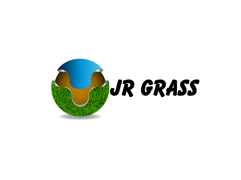 Logo Design by Private User - Entry No. 28 in the Logo Design Contest Inspiring Logo Design for JR Grass.