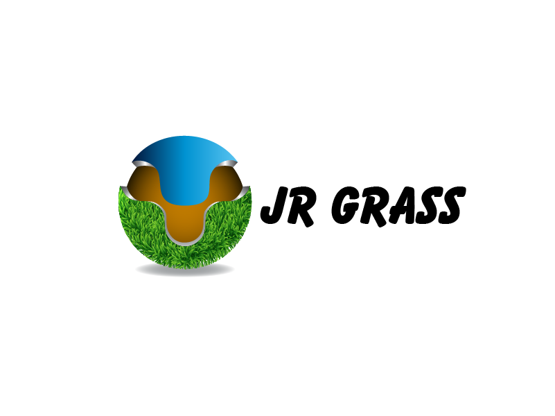 Logo Design by Private User - Entry No. 29 in the Logo Design Contest Inspiring Logo Design for JR Grass.