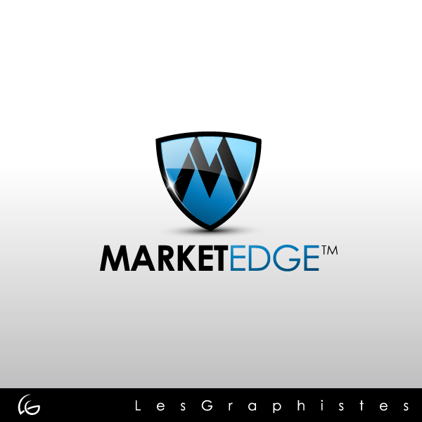 Logo Design by Les-Graphistes - Entry No. 14 in the Logo Design Contest Market Edge or Marketedge.