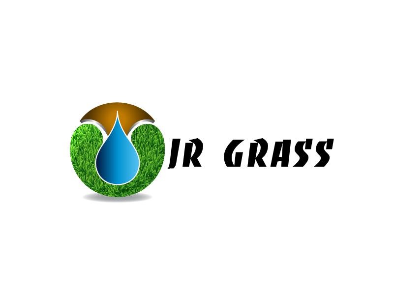 Logo Design by Private User - Entry No. 31 in the Logo Design Contest Inspiring Logo Design for JR Grass.