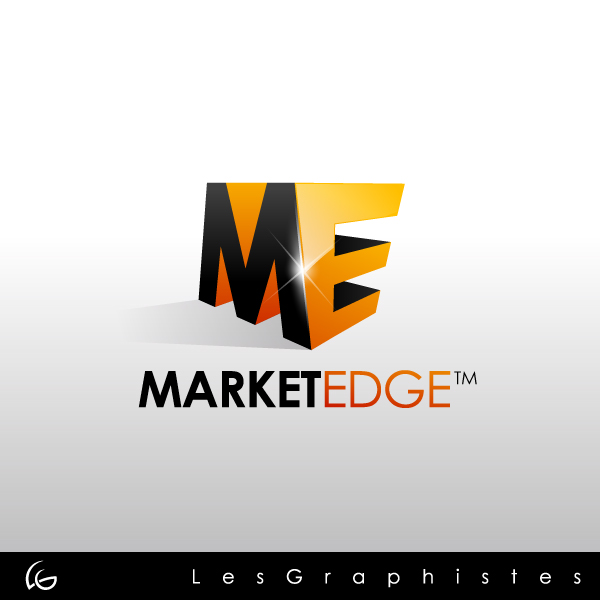 Logo Design by Les-Graphistes - Entry No. 15 in the Logo Design Contest Market Edge or Marketedge.