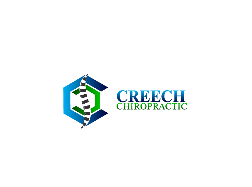 Logo Design by Private User - Entry No. 141 in the Logo Design Contest Imaginative Logo Design for Creech Chiropractic.