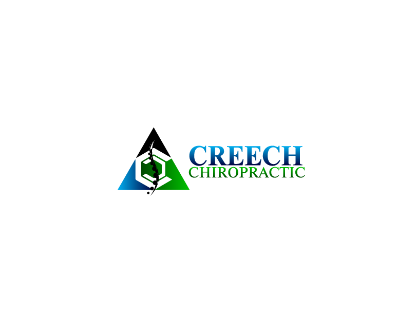 Logo Design by Private User - Entry No. 142 in the Logo Design Contest Imaginative Logo Design for Creech Chiropractic.