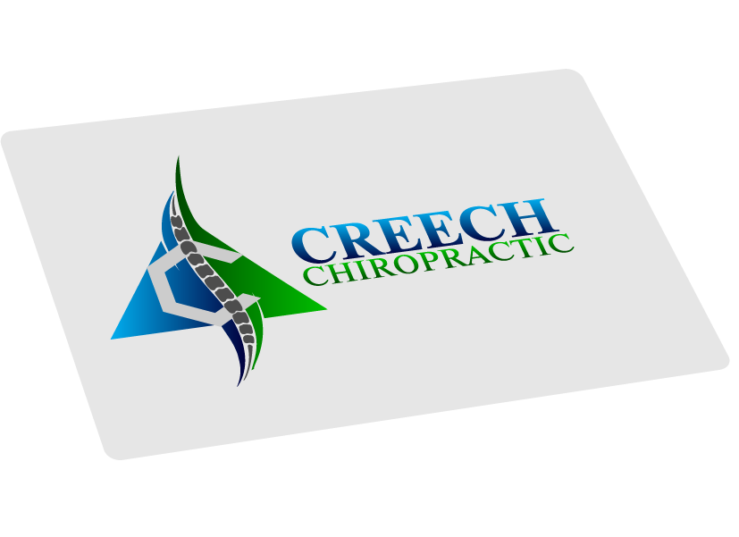 Logo Design by brands_in - Entry No. 143 in the Logo Design Contest Imaginative Logo Design for Creech Chiropractic.