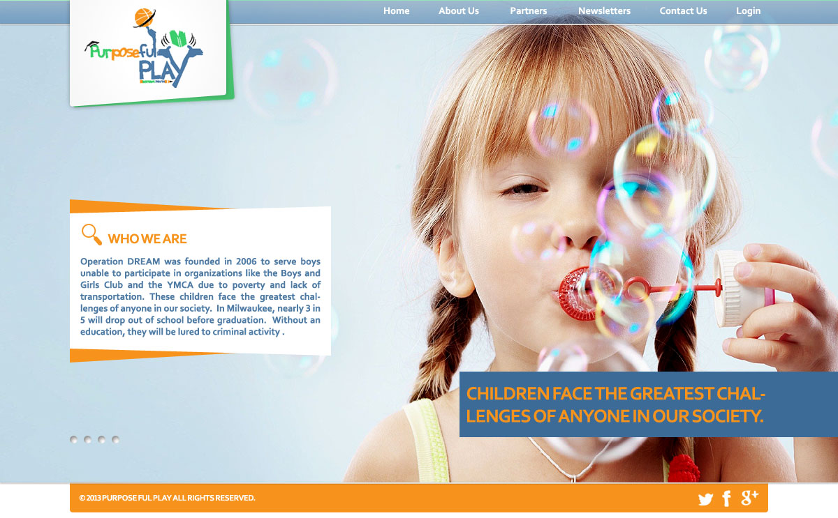 Web Page Design by webexprtz - Entry No. 4 in the Web Page Design Contest Unique Web Page Design Wanted for Purposeful PLAY.