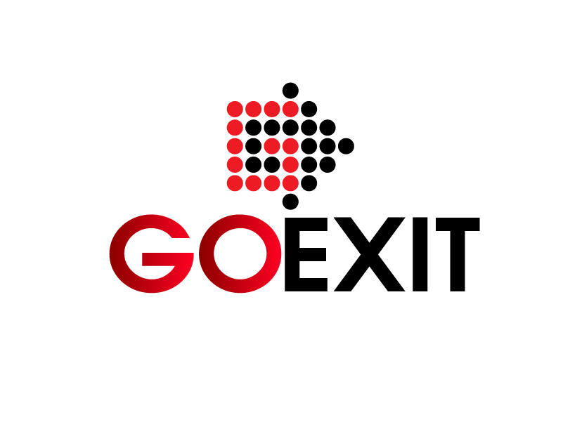 Logo Design by Private User - Entry No. 144 in the Logo Design Contest GoExit Logo Design.