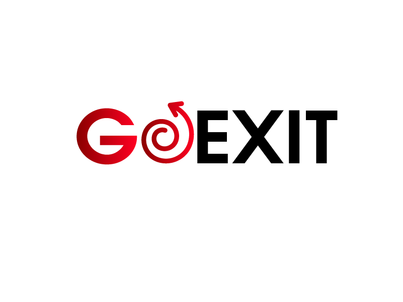 Logo Design by Private User - Entry No. 145 in the Logo Design Contest GoExit Logo Design.