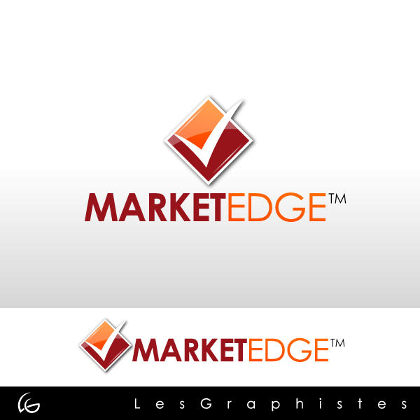 Logo Design by Les-Graphistes - Entry No. 16 in the Logo Design Contest Market Edge or Marketedge.