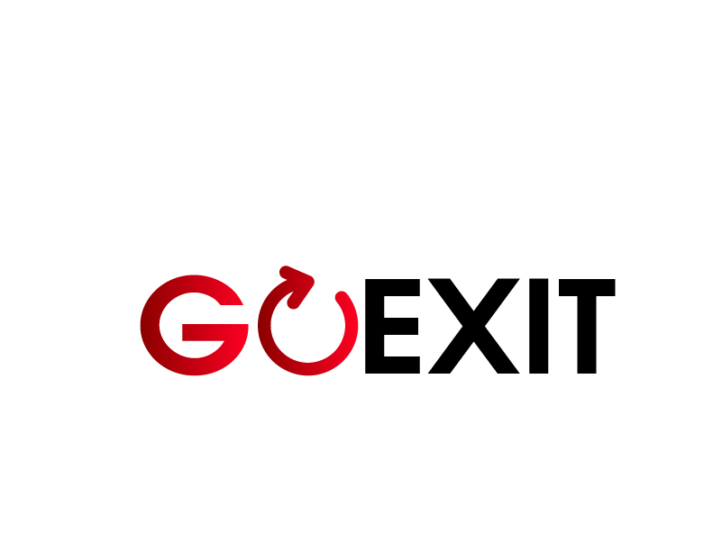 Logo Design by Private User - Entry No. 146 in the Logo Design Contest GoExit Logo Design.