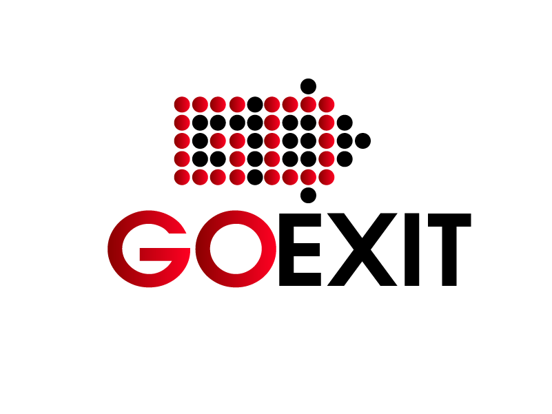 Logo Design by Private User - Entry No. 147 in the Logo Design Contest GoExit Logo Design.