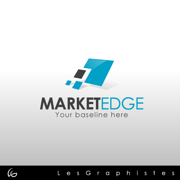Logo Design by Les-Graphistes - Entry No. 17 in the Logo Design Contest Market Edge or Marketedge.