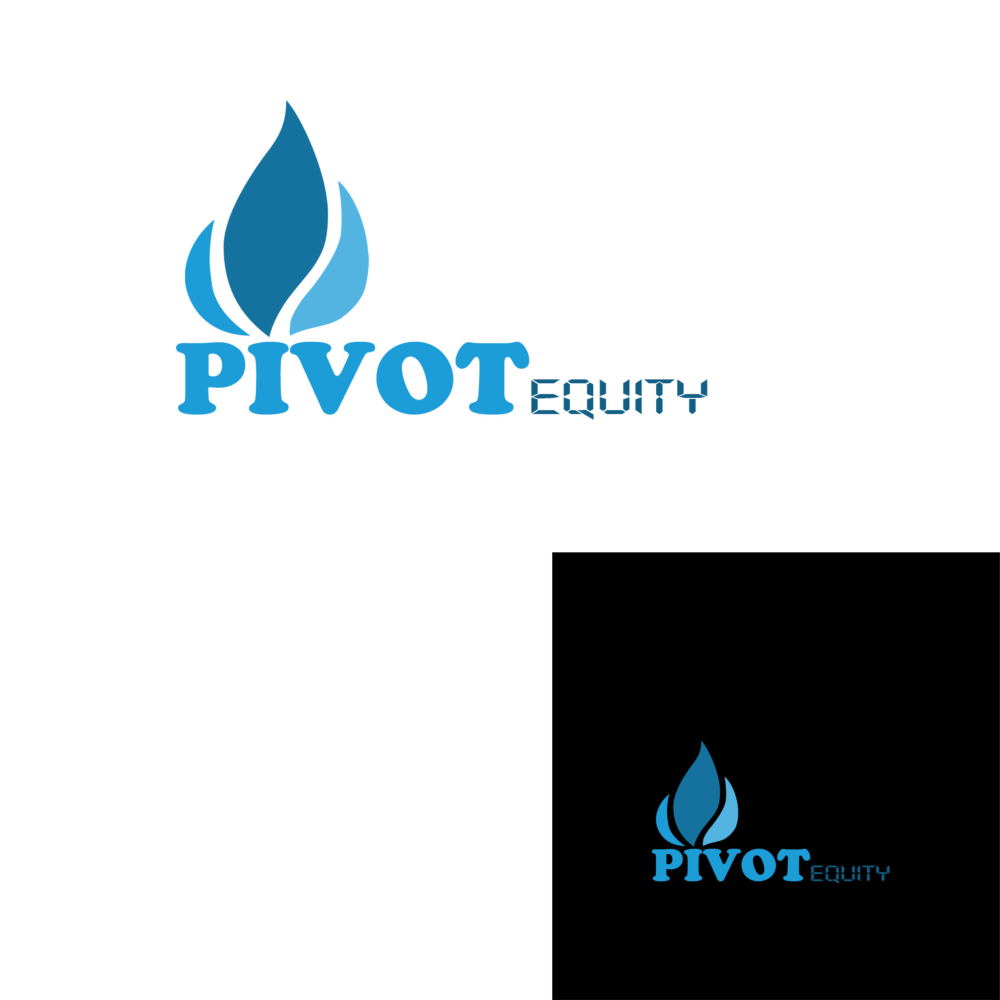 Logo Design by Marco Paulo Jamero - Entry No. 65 in the Logo Design Contest Unique Logo Design Wanted for Pivot Equity Advisors.