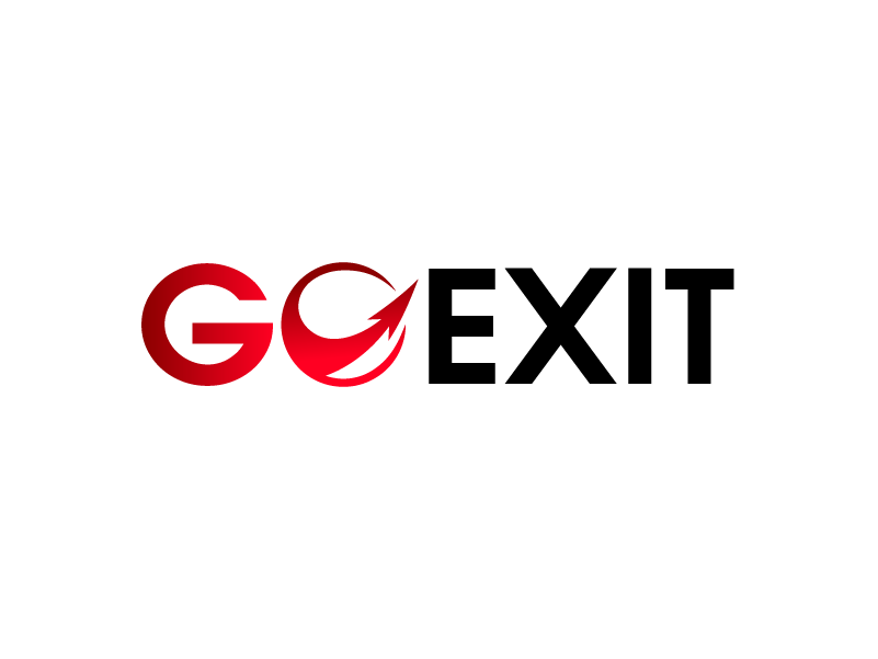 Logo Design by Private User - Entry No. 148 in the Logo Design Contest GoExit Logo Design.