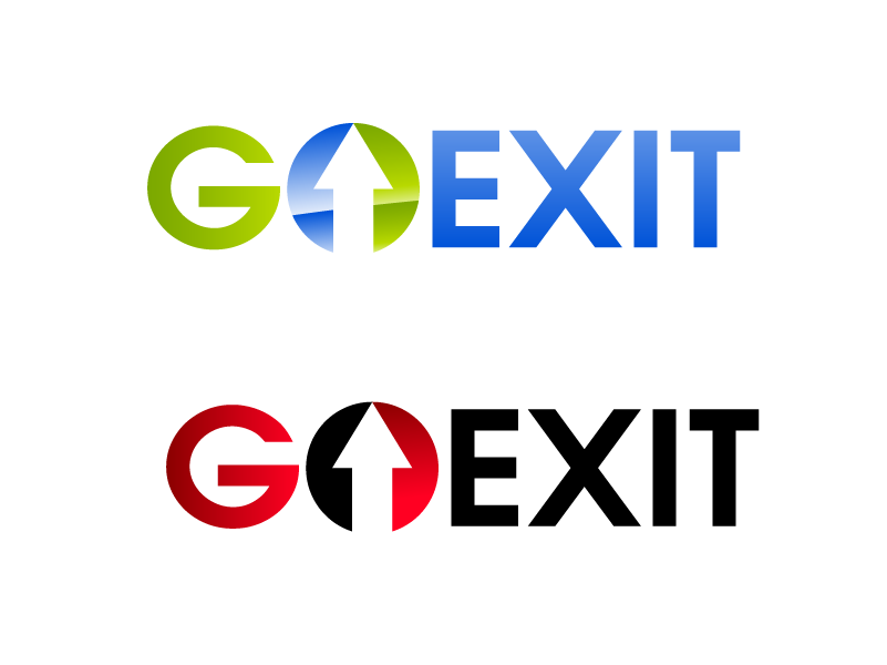 Logo Design by Private User - Entry No. 149 in the Logo Design Contest GoExit Logo Design.