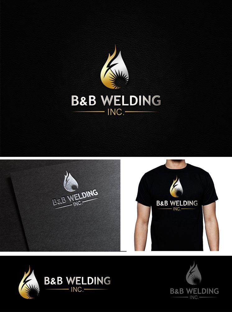 Logo Design by Fita Tiara Sani - Entry No. 57 in the Logo Design Contest Fun Logo Design for B&B Welding Inc..